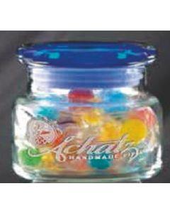 8 Oz. Apothecary Jar w/ Flat Lid