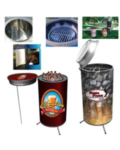 Can Cooler & Can Grill Set