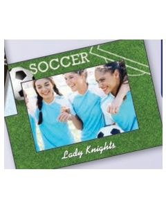 Sports Soccer Small Photoframeables Photo Frame Decal