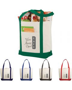 The Casablanca Cotton Boat Tote Bag