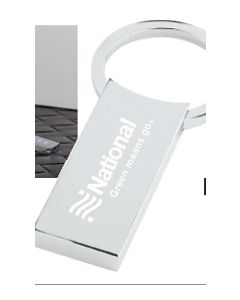 Rectangle Key Tag