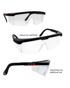 Adjustable ANSI Safety Glasses (Direct Import-10 Weeks Ocean)