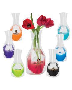 Clear Base Vase