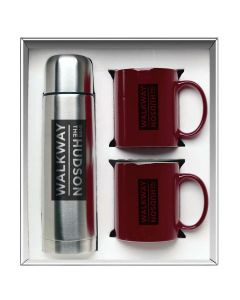 Maroon Red Hampton To Go Gift Set