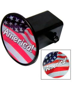 Hitch Covers w/Domed Decal - Circle