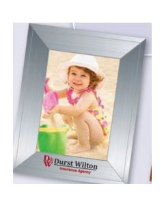 Contemporary Large Photoframeables Silver Photo Frame Decal