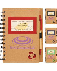 Eco Star Notebook & Pen