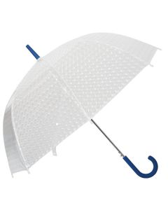 "Dome Umbrella w/ Rubber Grip Handle (46"" Arc) (Blank)"