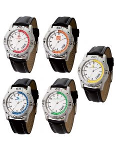 Watch Creations Unisex Sports Watch w/ Colorful Compass Graphic