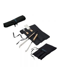 3 Piece Roll Up BBQ Set