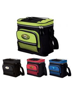 Full Color Dome Logo 12 Can Cooler Bag