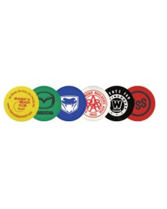 Plastic Token w/ Smiley Face Stock Logo (Spot Color)