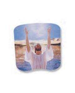 Stock Baptism Spiritual Hand Fan