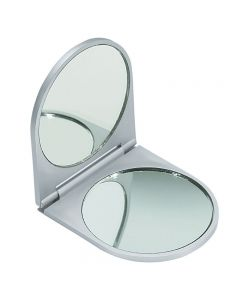 Compact Folding Double Mirror