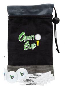 Monterey Event Kit w/ 3 Callaway Warbird 2.0 Golf Balls & 15 Tees