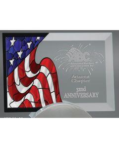 Large Horizontal Americana Award