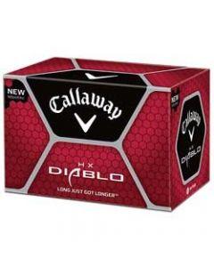 Callaway HX Diablo Dozen Golf Balls / Equator of Ball