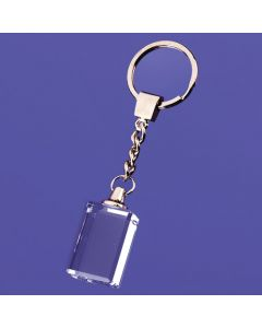 Macedonia Block Keychain