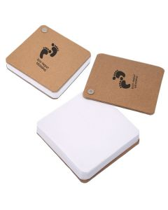 Recycled Cardboard Pivot Pad - White (Printed)