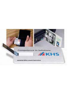 Custom Credit Card USB Drive 2.0 (1 Gb)