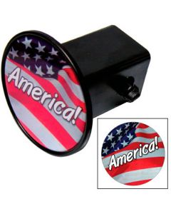Hitch Covers w/Laminated Decal - Circle
