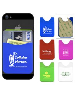Soft Silicone Wallet For Smart Phones (Ocean Shipping)