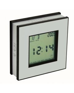 4 Function Quad Display Clock w/ Rotating Display Indexing