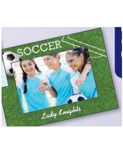 Sports Soccer Mini Photoframeables Photo Frame Decal