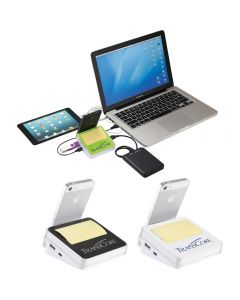 Stickz USB Hub & Phone Holder
