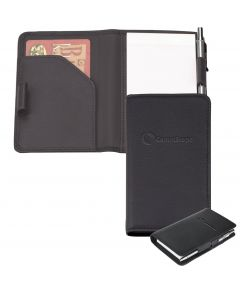 Buxton Leather Memo Book