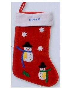 Snowman Christmas Stocking (Blank)/ Product Packaging Option