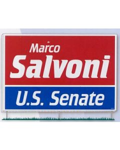 Political Campaign Kit (50 Signs/ 250 Bumper Stickers/ 500 Lapel Stickers)