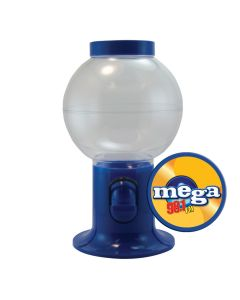 Empty Blue Gumball Machine