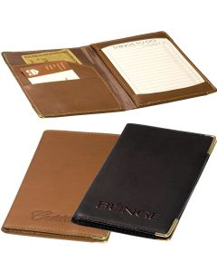 Sueded Full-Grain Leather Jotter Wallet