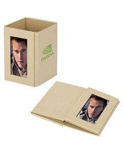 Eco Friendly Pen Cup w/ Photo Frame