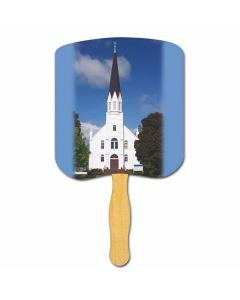 Religious Hand Fan/ Church-Religious