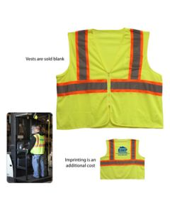 ANSI 2 Tri Color Safety Vest (Direct Import-10 Weeks Ocean)