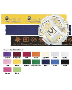 "Badge Satin Ribbon (1 1/2"") (Foil)"
