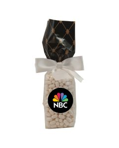 Black Diamonds Mug Stuffer Gift Bag with Colored Candy Bullet