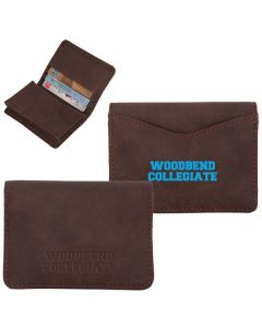 Leather Card Holder (Blank)
