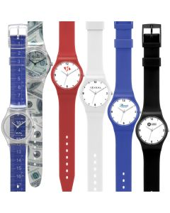Watch Creations Unisex Watch w/ Plastic Straps