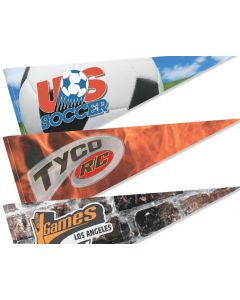 Full Color Felt Sports Pennant