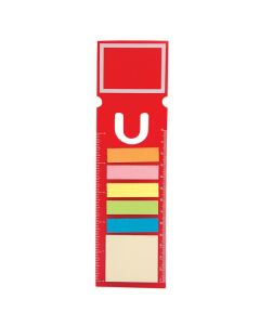 "Rectangle Bookmark W/150 Sticky Notes 2.75""x8.5"" (Blank)"