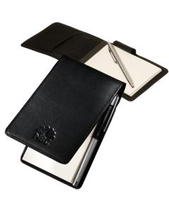 Helmsley Sueded Full-Grain Leather Jotter Pad