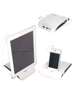 Tablet Stand and Speaker (Blank)