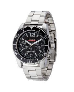 Watch Creations Unisex Chronograph Watch w/ Steel Bracelet