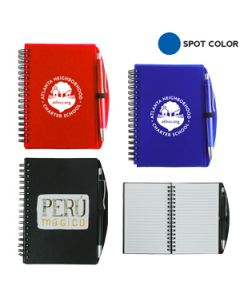 Carmel Jotter Notepad with Pen