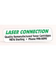 "Die Cut Rectangle Roll Label (7/16""x1 3/4"")"
