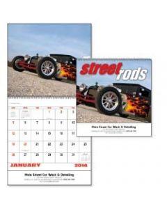 Street Road Spiral Bound 13 Month Calendar