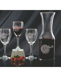 5 Piece Wine and Decanter Set